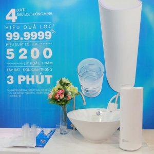 Máy lọc nước ecosphere nuskin loại bỏ 99,999% vi khuẩn gây hại trong nước